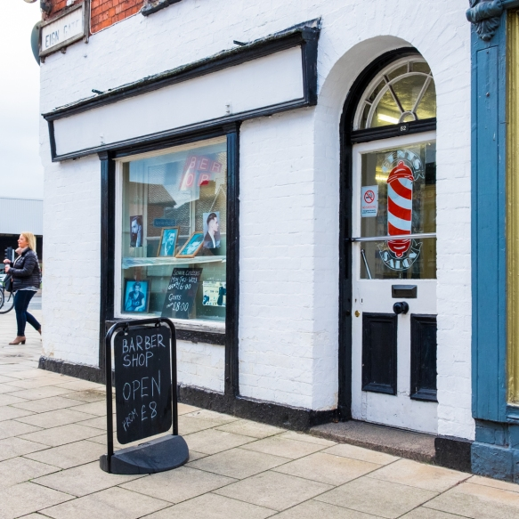 Barbers, Hereford Squares 2017